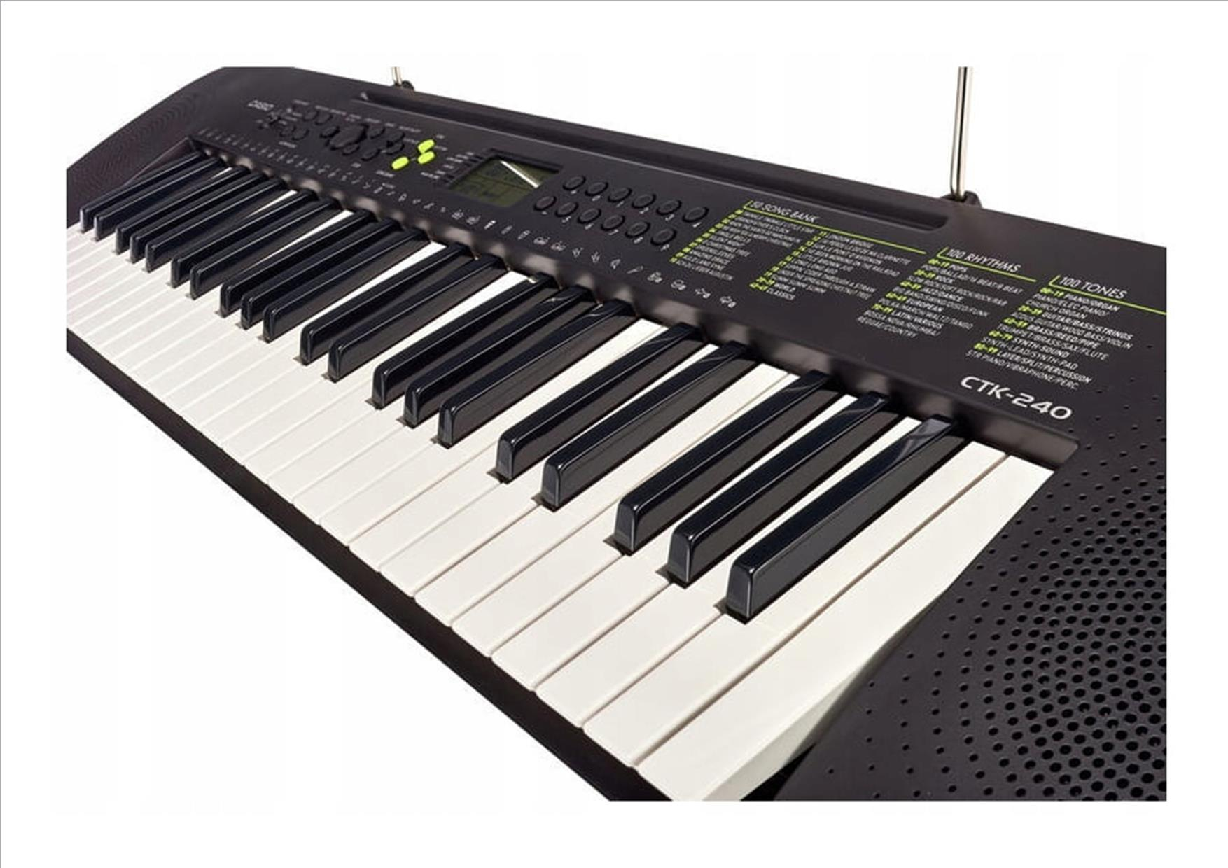 Casio CTK-240, синтезатор, 49 клавиш